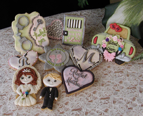 #7 - A Pliceman's Wedding Rehearsal! by Cookies Fantastique by Carol
