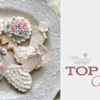 Top 10 Cookies Banner: Cookies and Photo by Masumi (Icing Cookie for Smile); Graphic Design by Julia M Usher