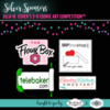Silver Sponsor Banner - Julia M. Usher's 3-D Cookie Art Competition™: Logos Courtesy of Sponsors; Graphic Design by Julia M. Usher