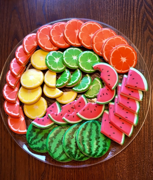 #9 - Summer Fruit Platter by Anne Bodeman Widga