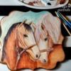 #2 - Horses: By Ewa Kiszowara MOJE PIERNIKI