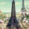 #3 - Sweet Eiffel Tower Cookie: By Sweet Gypsy