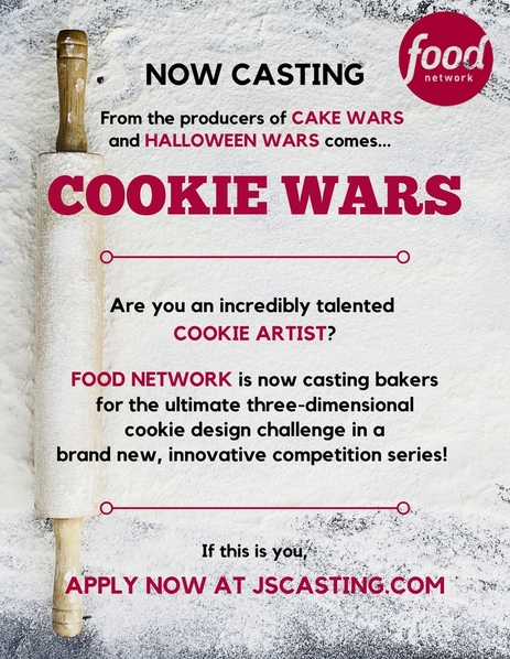 Cookie Wars Flyer