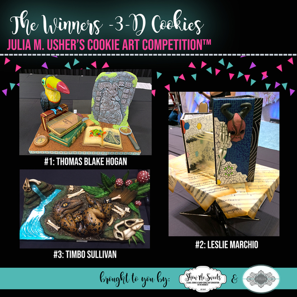 The Winners - 3-D Cookies