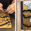 Leslie's Work in Process - Licorice Lattice: Cookie, Licorice Work, and Photos by Leslie Marchio