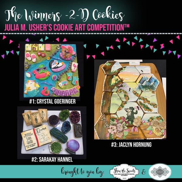 The Winners - 2-D Cookies