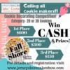 Jersey Shore Cookie Competition Banner: Graphic Courtesy of Jersey Shore Cake & Cookie Convention