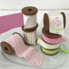 Edible Ribbons and Cookie Spools - Where We're Headed!: Design, Cookies, and Photo by Manu