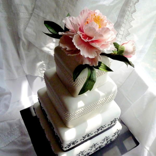 1 First Commissioned Wedding Cake