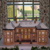 Gingerbread Estate: Gingerbread House and Photo by Barbara Smith