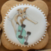 Final Cookie Design: Cookie and Photo by Barbara Smith