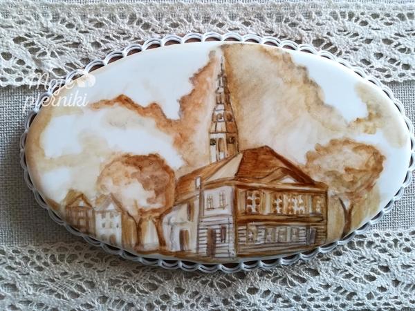 My City - Painted with Coffee by Ewa Kiszowara MOJE PIERNIKI