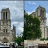 Notre Dame Collage: Photos by Christine Donnelly