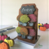 Mum Cookies on 3-D Display Shelf Cookie: Design, Cookies, and Photo by Manu