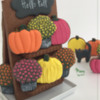 One More Option with Pumpkins: Design, Cookies, and Photo by Manu