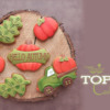 Top 10 Cookies Banner: Cookies and Photo by Gingerland; Graphic Design by Julia M Usher