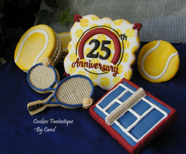 #9 - Celebrating 25 Years at the US Open by Cookies Fantastique by Carol
