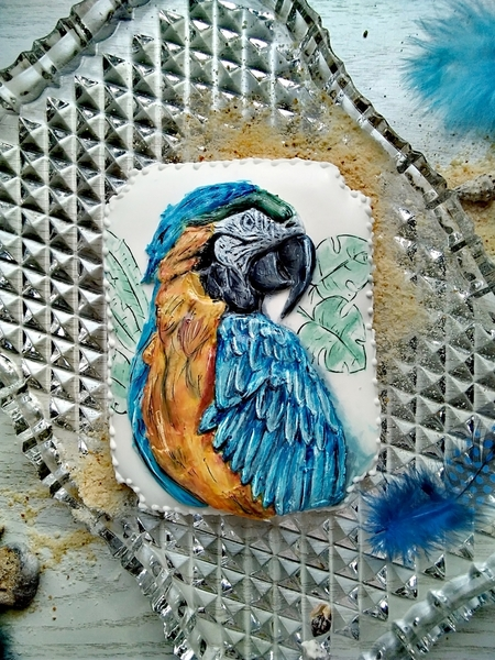 #8 - Parrot Cookie by Olivera Vlah