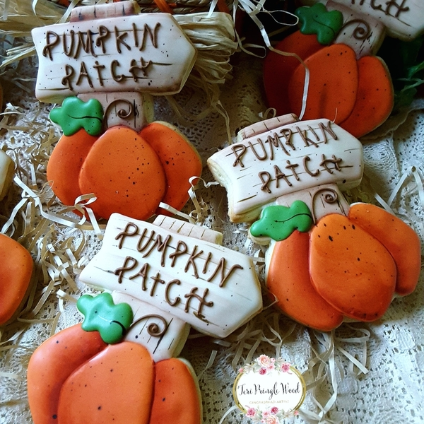 #7 - Pumpkin Patch by Teri Pringle Wood