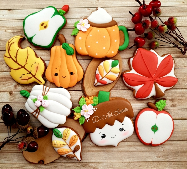 #5 - Autumn Friends by Di Art Sweets