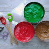 Step 4 - Prepare Royal Icing: Icing and Photo by Gingerland