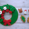 Step 8 - Assemble Wreath: Cookies and Photo by Gingerland