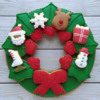 Finished Christmas Wreath!: Cookies and Photo by Gingerland