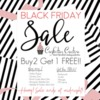 Black Friday Cookie Stencil Sale Banner: Graphic Courtesy of Confection Couture Stencils