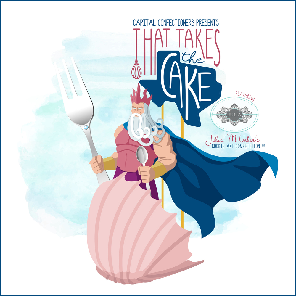 Julia M. Usher's Cookie Art Competition™ at That Takes the Cake Show!