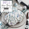 New Year's Stencil Sale Banner: Cookies and Photo by Julia M Usher; Graphic Design by Confection Couture Stencils