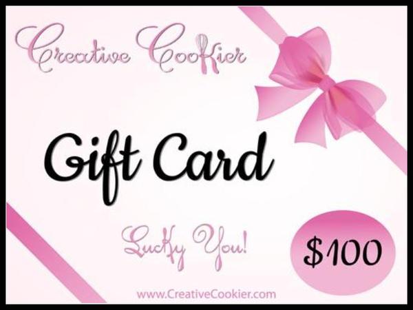 Genie Gift Card Border