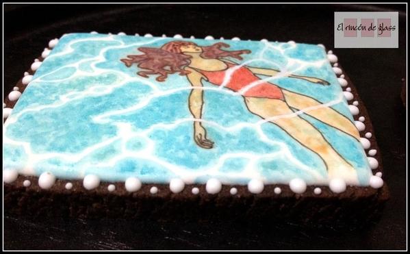 galleta nadadora