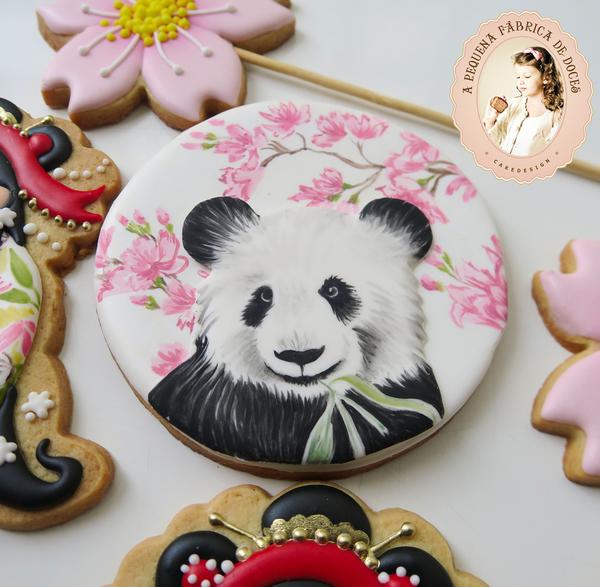 #7 - Panda and Sakuras by Mariana Meirelles