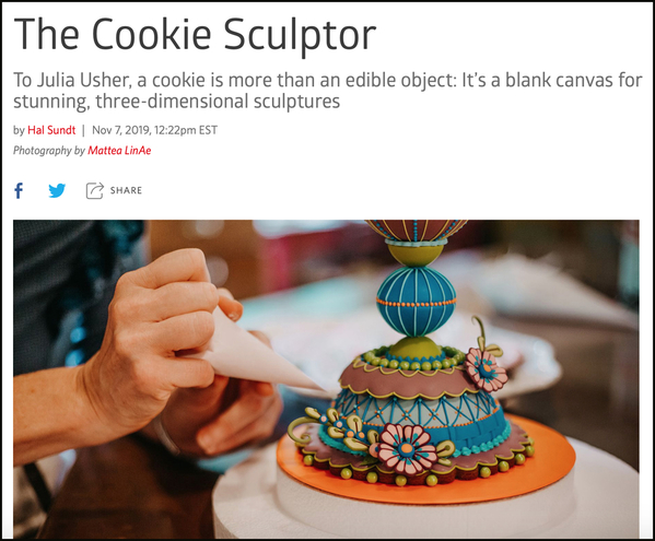The Cookie Sculptor