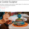 The Cookie Sculptor - Eater Headline: Screenshot Courtesy of Eater.com