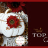 Top 10 Cookies Banner - November 9, 2019: Cookies and Photo by Teri Pringle Wood; Graphic Design by Julia M Usher