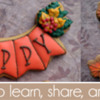 November 2019 Banner for Cookie Connection: Cookies and Photos by Berni Solti; Graphic Design by Pretty Sweet Designs
