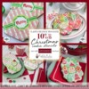 Last Chance Christmas Stencil Sale Banner: Cookies and Photos by Julia M Usher; Graphic by Confection Couture Stencils