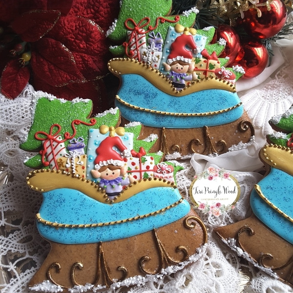 #6 - Sleigh Full of Gifts by Teri Pringle Wood