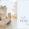 Top 10 Cookies Banner: Cookies and Photo by mintlemonade (cookie crumbs); Graphic Design by Julia M. Usher