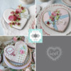 Julia's December Stencil Release - In One View!: Cookies and Photos by Julia M Usher; Stencils Designed by Julia M Usher with Confection Couture Stencils