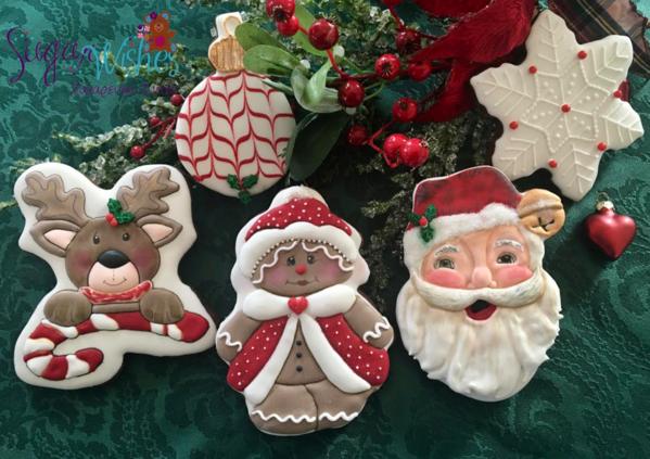 #9 - Christmas Characters by Tina at Sugar Wishes