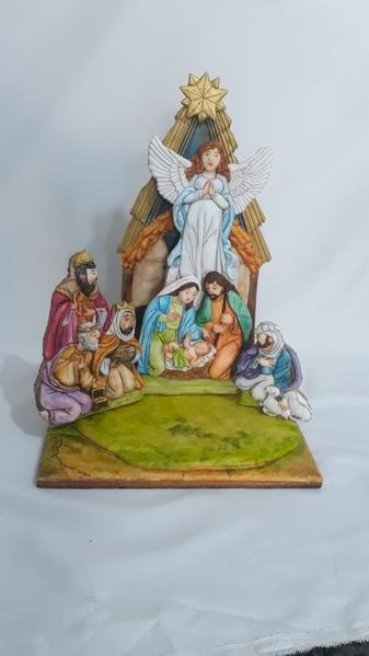 #10 - Nativity Scene by Elke Hoelzle