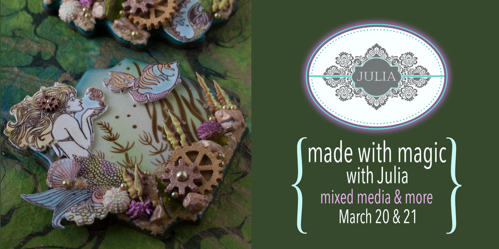 """""""Made with Magic"""" Cookie Decorating Course with Julia M Usher (Virtual Class)"""