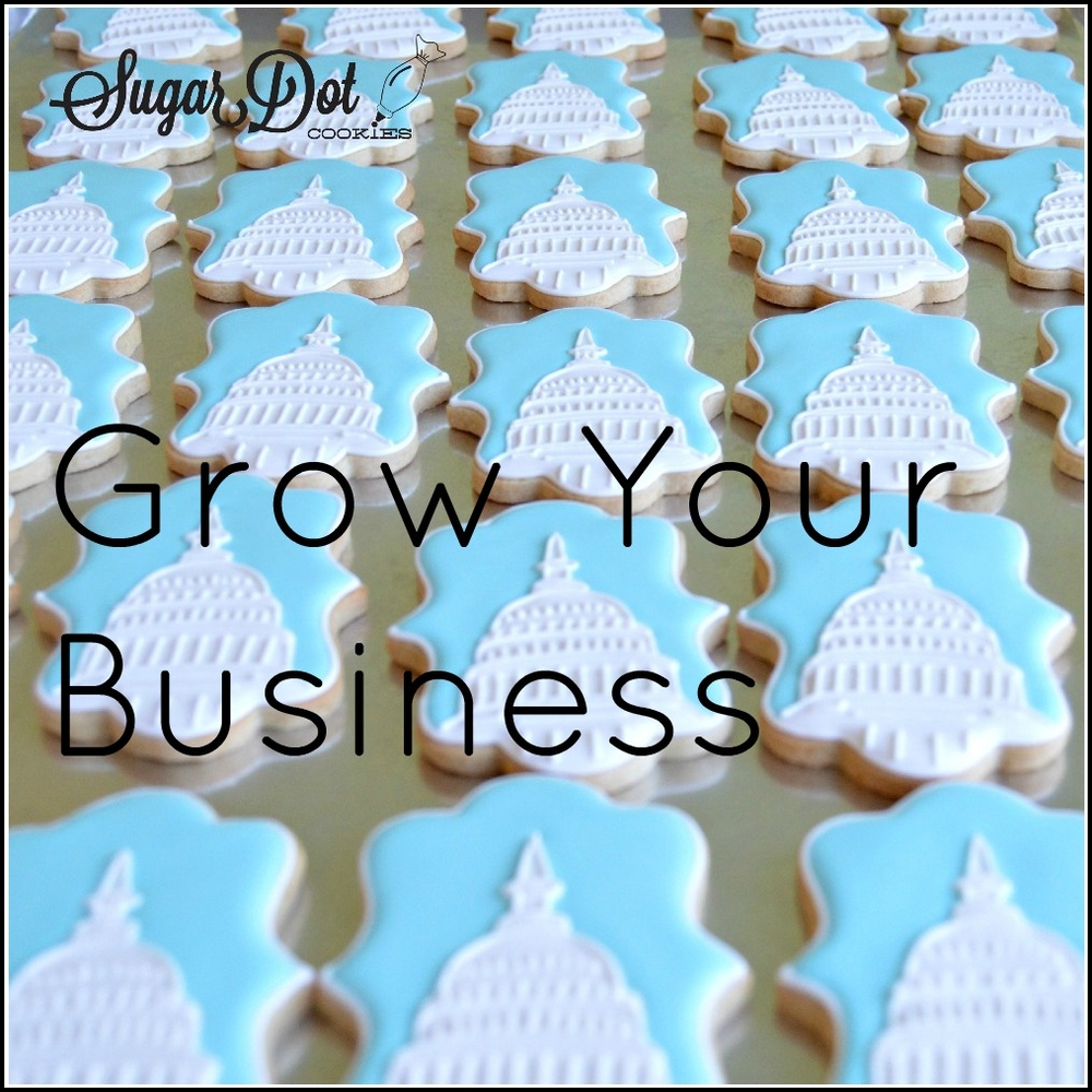 How to Grow / Promote Your Cookie Decorating Business - Live Online Class