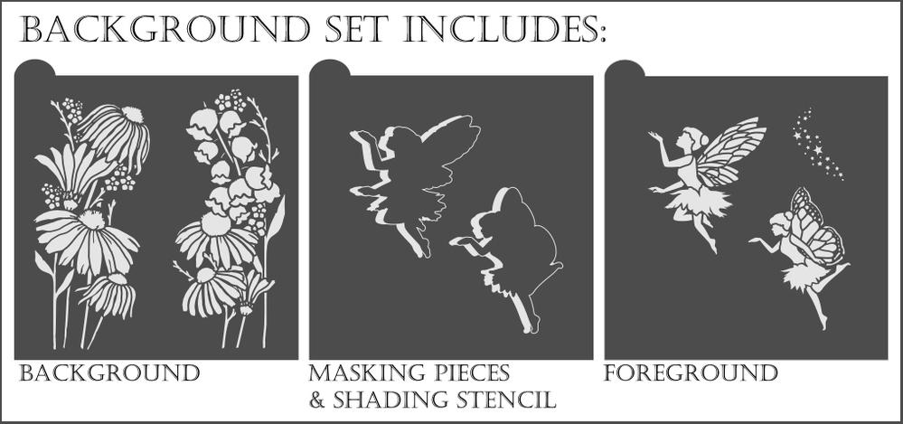Fairydust Stencils /& Masks Bunnies