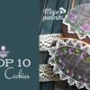 Top 10 Cookies Banner: Cookies and Photo by Ewa Kiszowara MOJE PIERNIKI; Graphic Design by Julia M Usher