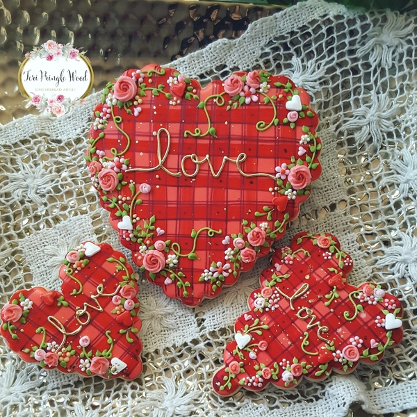 #1 - Valentine Plaid by Teri Pringle Wood