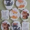 #8 - Woodland Creatures Cookies: By Elke Hoelzle