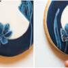 Step 5b - Add Brush Embroidery Highlight to Curled Petal: Cookie and Photos by Aproned Artist